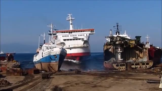 Watch and share Freighter GIFs and Disaster GIFs on Gfycat
