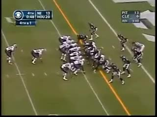 Watch and share Patriots Texans 2003 GIFs by Leo Spaceman on Gfycat