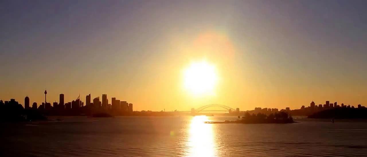 Sydney timelapse GIFs