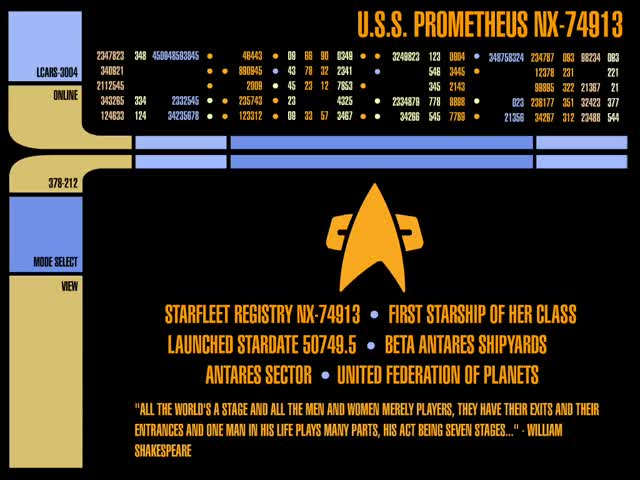 Watch USS Prometheus GIF by @chaosoverfiend on Gfycat. Discover more Star Trek GIFs on Gfycat
