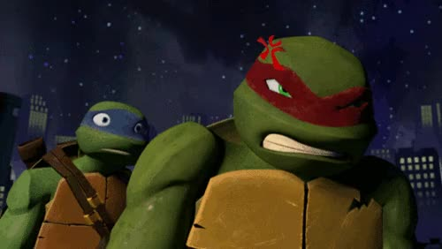 Watch and share Raphael (TMNT) GIFs on Gfycat