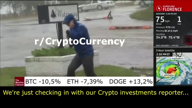 Watch The Weather Channel reporter on cryptocurrency GIF on Gfycat. Discover more related GIFs on Gfycat