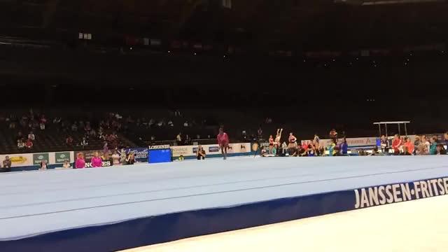 Watch and share Simone Biles GIFs and Gymnastics GIFs on Gfycat