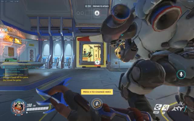 Watch and share Overwatch GIFs and Humor GIFs by lancet on Gfycat