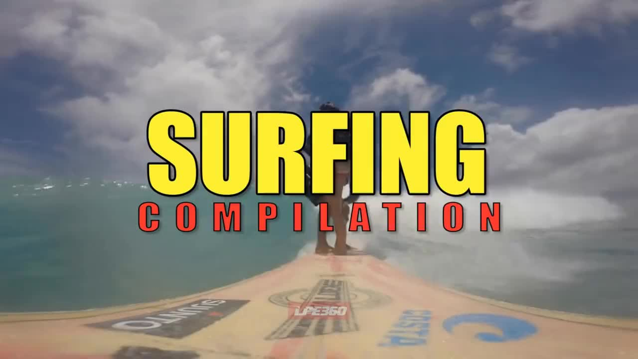 Surfing Compilation GIFs