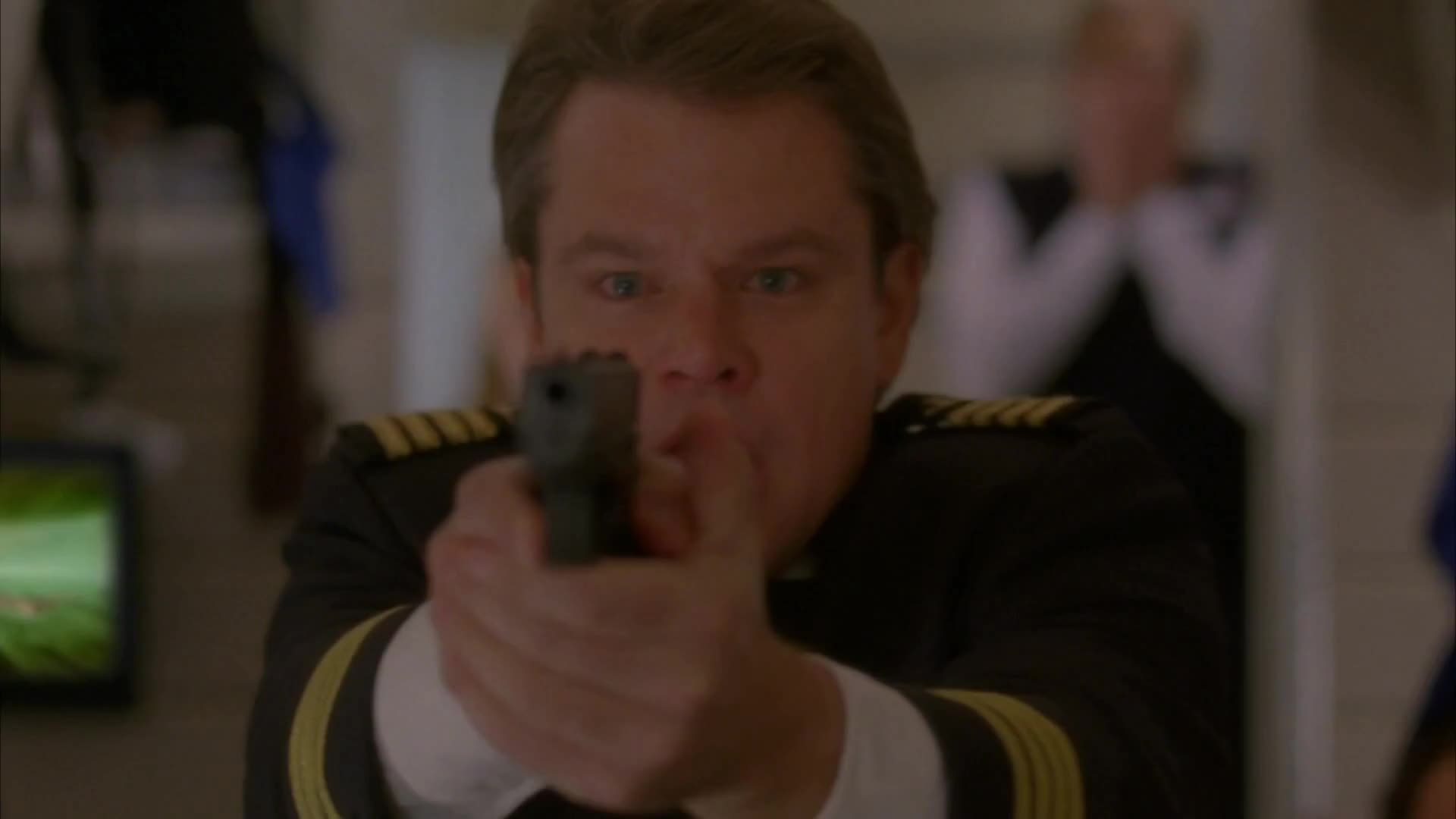 30 ROCK, Carol, Damon, Double-Edged Sword, I, Matt, S05E14, celebs, matt damon, waste, will, you, I WILL WASTE YOU!! GIFs