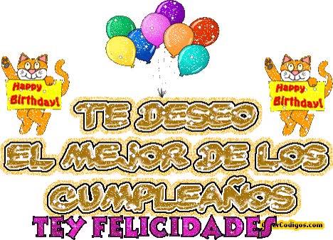 Watch and share Felicitaciones De Cumpleaños Gifs Animados - Imagui GIFs on Gfycat