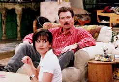 Watch and share Courteney Cox GIFs and Tom Selleck GIFs on Gfycat