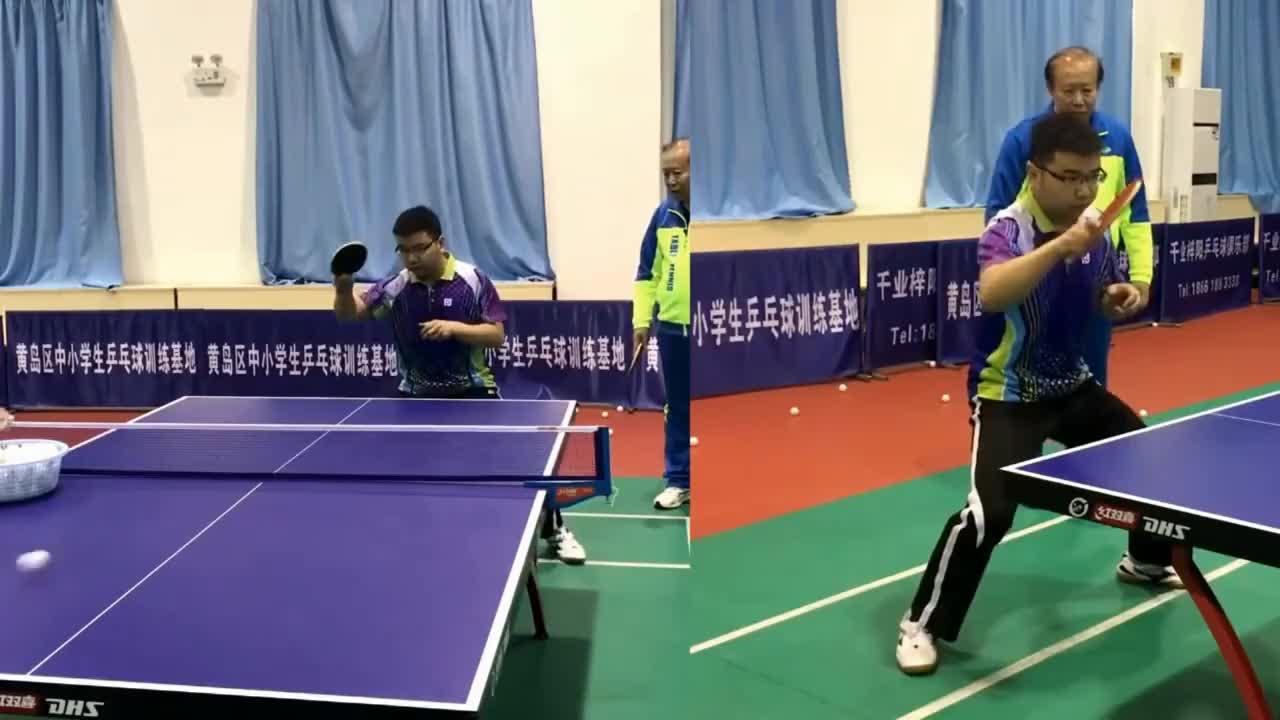 Pingpong, tabletennis, tennis, 《乒乓球三把钥匙》第1集:第一把钥匙(基础用力) GIFs