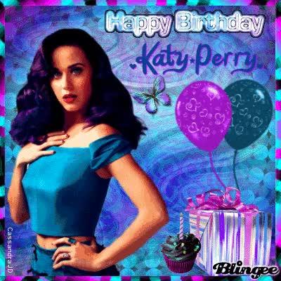 HAPPY BIRTHDAY KATY PERRY!
