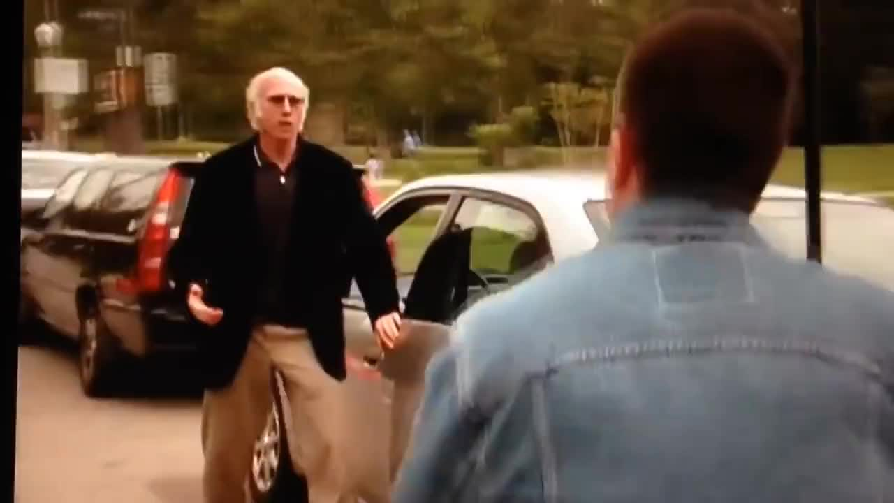 curb your enthusiasm, larry david, Larry David fakes 2 heart attacks - Curb Your Enthusiasm GIFs