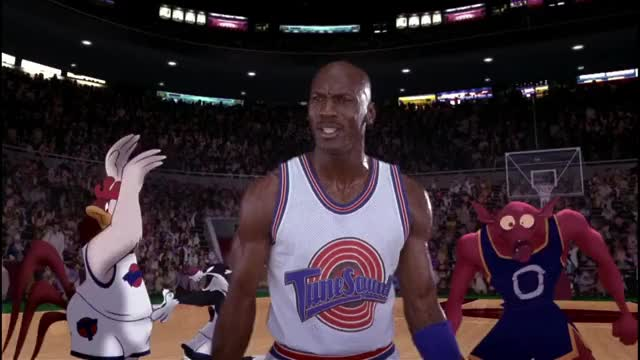 Watch and share Michael Jordan GIFs and Looney Tunes GIFs by MikeyMo on Gfycat