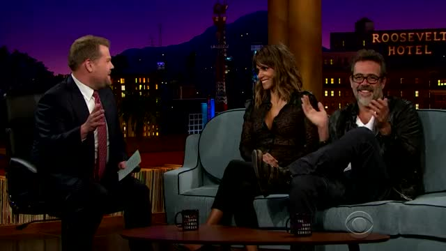 Watch this halle berry GIF on Gfycat. Discover more halle berry, james corden, jeffrey dean morgan, late show james corden, reggie watts GIFs on Gfycat