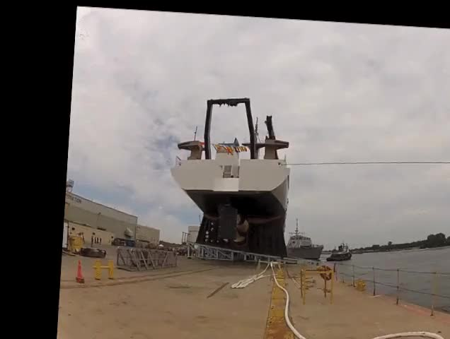 Watch Stabilized Ship Commissioning (reddit) GIF on Gfycat. Discover more imagestabilization GIFs on Gfycat