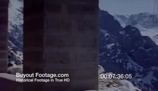 Watch HD Historic Stock Footage WWII Color - ADOLF HITLER - EVA BRAUN - EAGLES NEST - BERCHTESGADEN GIF on Gfycat. Discover more related GIFs on Gfycat