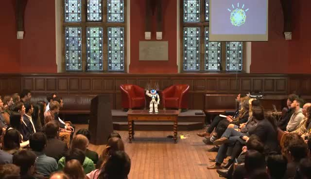 Watch and share IBM Watson | Full Q&A | Oxford Union GIFs on Gfycat