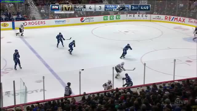 Watch r GIF by Matt D (@phenomenon98) on Gfycat. Discover more Vancouver Canucks, Vegas Golden Knights, hockey GIFs on Gfycat