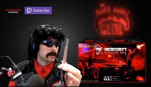 Watch and share Dr.Disrespect Licks Comb GIFs on Gfycat