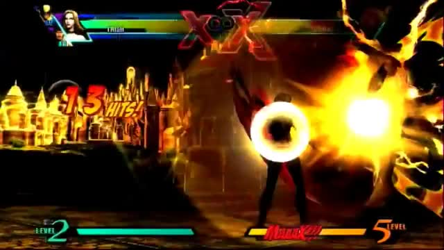 Watch and share UMvC3: Trish Combo Video GIFs on Gfycat