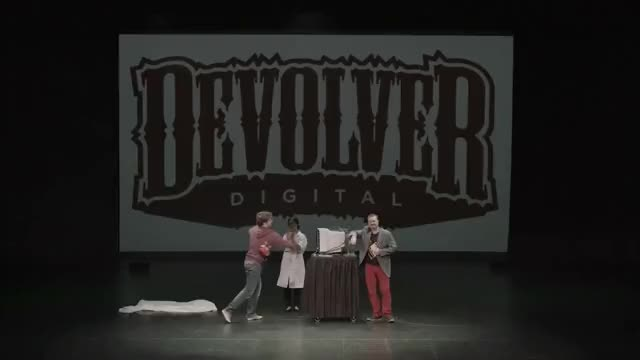 Watch and share Devolver Digital GIFs and Press Conference GIFs on Gfycat