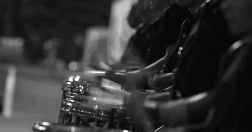 Drum Corp International, band, black and white, dci, drum corps, drumcorp, drumline, drums, gif, marching, marching band, music, percussion, snare, summer,  GIFs