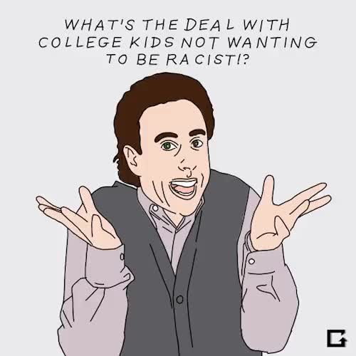 Watch and share Politically Correct GIFs and Jerry Seinfeld GIFs on Gfycat