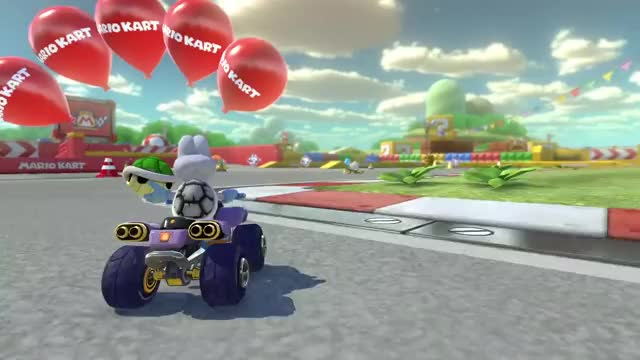 Watch and share Mario Kart 8 Deluxe GIFs and Dry Bones GIFs by Mr. Panda on Gfycat