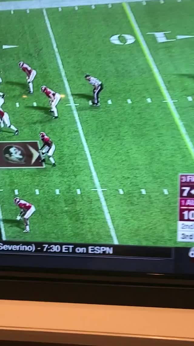 Watch and share Push Off By FSU GIFs on Gfycat