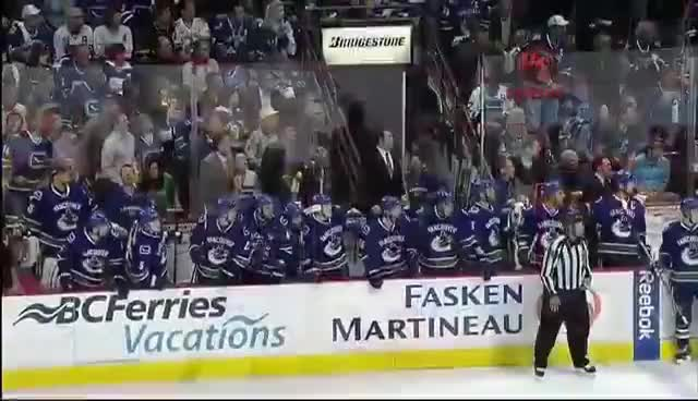 Watch and share Vancouver Canucks GIFs and Playoffs GIFs on Gfycat