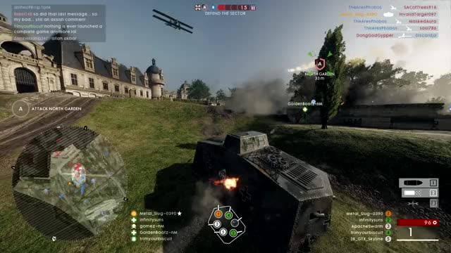 Watch Why I've Been Using the Heavy Tank Lately GIF by @metal_slug on Gfycat. Discover more Battlefield 1, Heavy Tank, Operations GIFs on Gfycat