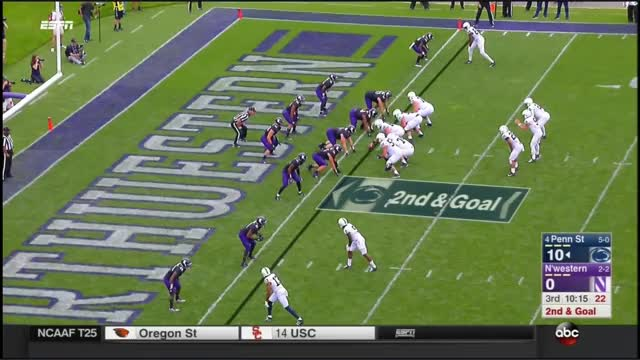 Watch 2017 - Penn State Nittany Lions at Northwestern Wildcats in 30 Minutes GIF by @bscaff on Gfycat. Discover more related GIFs on Gfycat