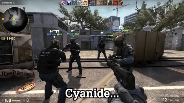 Watch and share Zfcyanide GIFs and Csgo GIFs by wildquaker on Gfycat