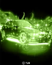 Watch and share Animated Green Fire Car Mobile Phone Wallpapers GIFs on Gfycat