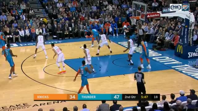 Watch and share New York Knicks GIFs and Basketball GIFs by upthethunder on Gfycat