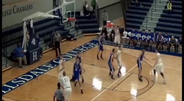 Jason Pretzer Highlight Hillsdale College Basketball GIFs