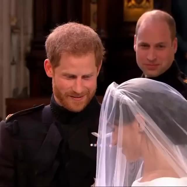 Watch Prince Harry: 'You look amazing' and 'I'm so lucky' GIF on Gfycat. Discover more All Tags, Lifestyle, Occasions, celebrity, entertainment, etiquette, prince harry, royalty, vpc, weddings GIFs on Gfycat