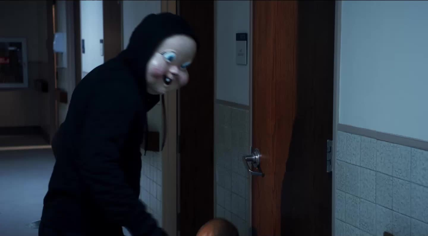 baby face, baby face killer, baby face mask, babyface, babyface killer, creepy, happy death day, happy death day 2, happy death day 2u, happy death day movie, happydeathday, hdd, hdd2u, horror, scared, scary, Baby Mask Scary GIFs