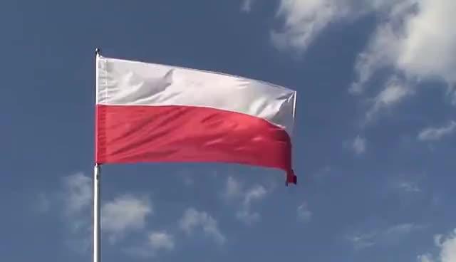 Maszt flagowy - Polska Flaga - Dobra Flaga GIFs