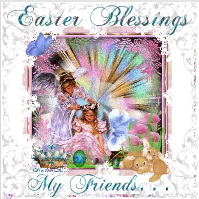 Watch and share Easter Blessings My Friends Cute Easter Friends Gif Bunny Easter Greeting Easter Blessing GIFs on Gfycat