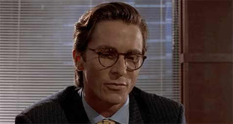 Watch impressive GIF by werwolf (@werwolfgfys) on Gfycat. Discover more american psycho, celebs, christian bale, impressive, ironic, irony, movie, movies, nice, ok, reaction, sarcasm, sarcastic, sure, yes GIFs on Gfycat
