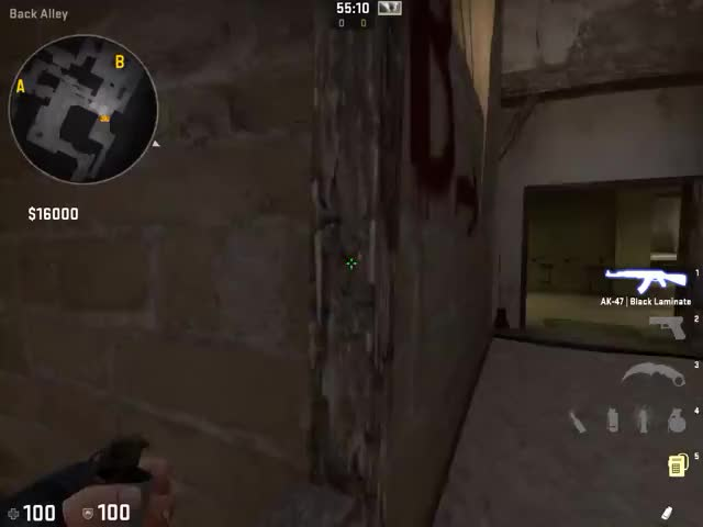 Watch MIRAGE T smoke - B cat arch (64tick) GIF on Gfycat. Discover more related GIFs on Gfycat