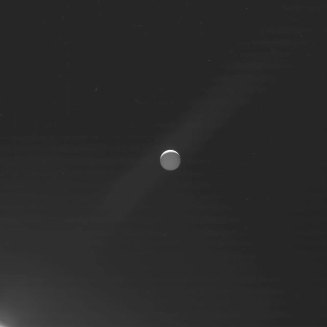 Watch saturn-final-images-enceladus-setting GIF by Dave Mosher (@davemosher) on Gfycat. Discover more Enceladus, cassini, grand finale, saturn GIFs on Gfycat