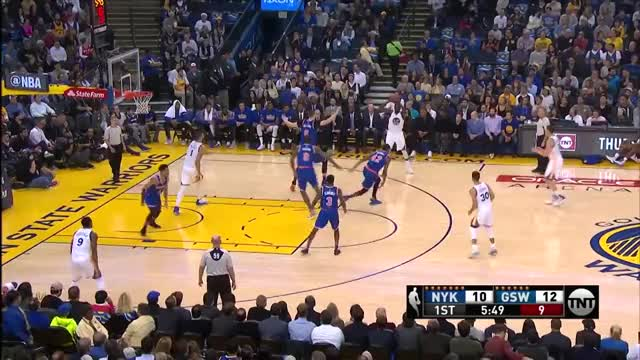 Watch and share New York Knicks At Golden State Warriors- December 15, 2016 GIFs on Gfycat
