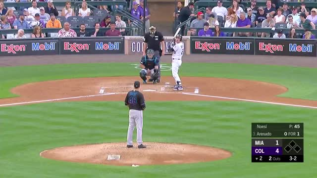 Watch and share Colorado Rockies GIFs and Baseball GIFs by Matthew Wallach on Gfycat