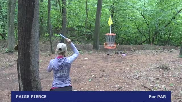 Watch 2017 Vibram Open - Pierce par saving putt - Round 4, hole 12 GIF by Ultiworld Disc Golf (@ultiworlddg) on Gfycat. Discover more dgpt, disc golf, disc golf pro tour GIFs on Gfycat