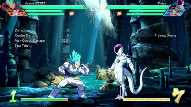 Watch DBFZ Vegeta BnB GIF on Gfycat. Discover more related GIFs on Gfycat