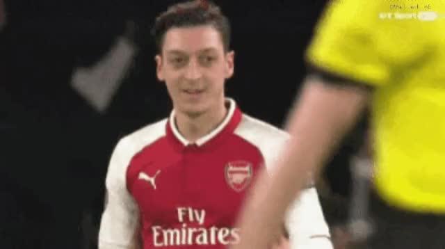 Watch and share Mesut Özil GIFs on Gfycat
