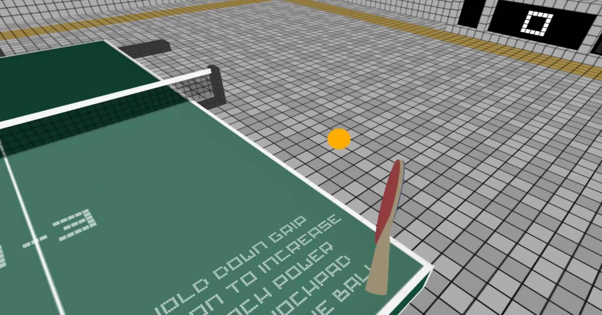60fpsgaminggifs, virtualreality, vive, [VR Ping Pong] HTC Vive GIFs