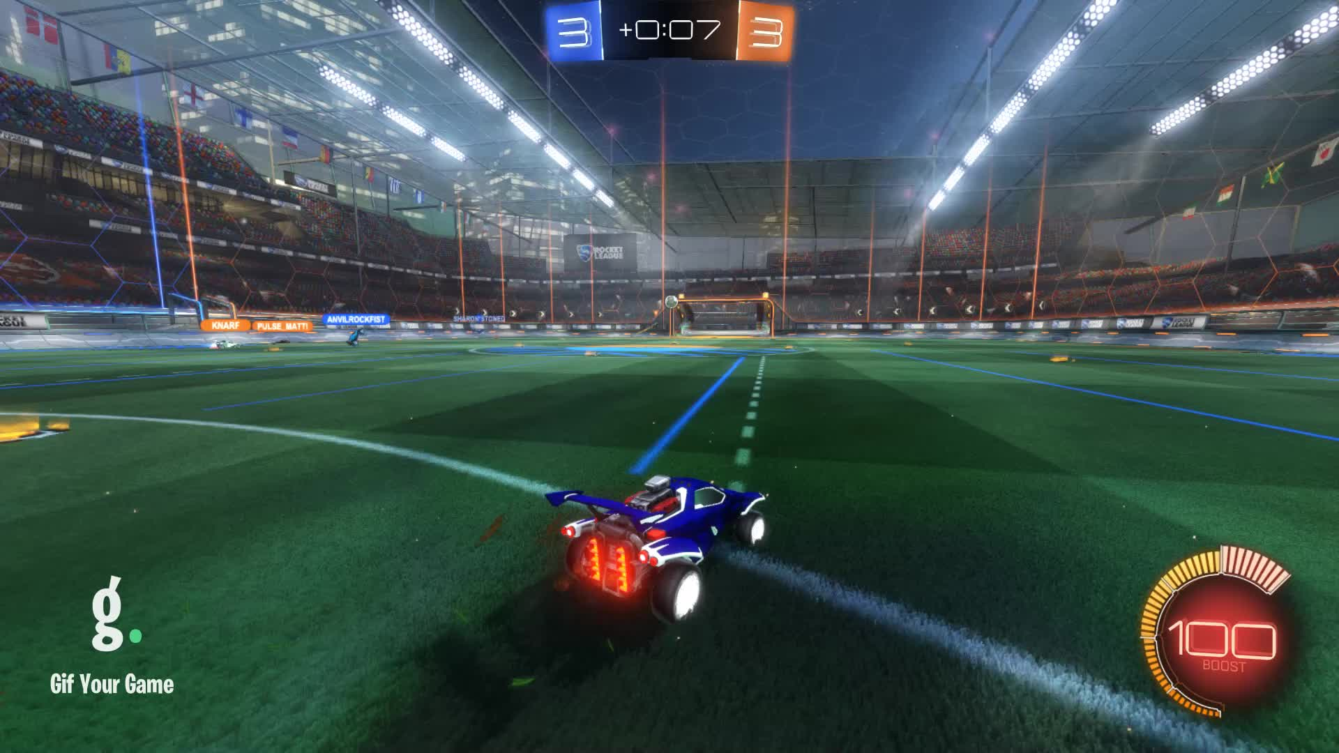 Gif Your Game, GifYourGame, Goal, Horizon, Rocket League, RocketLeague, Goal 7: Horizon GIFs