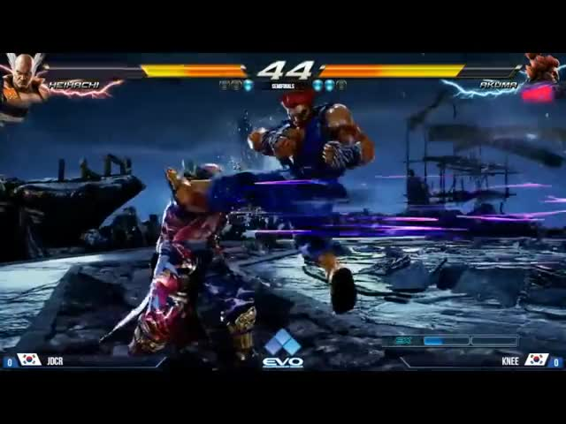 Evo 2016 - Tekken 7 (Semifinals): Jdcr vs Knee